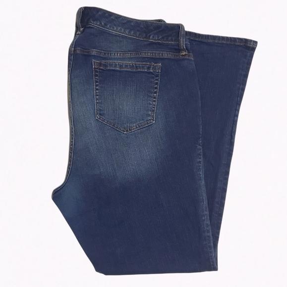 Torrid First at Fit Dark Bootcut Jeans - Sz 20